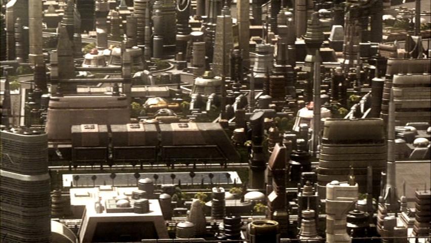 Caprica City, Detail