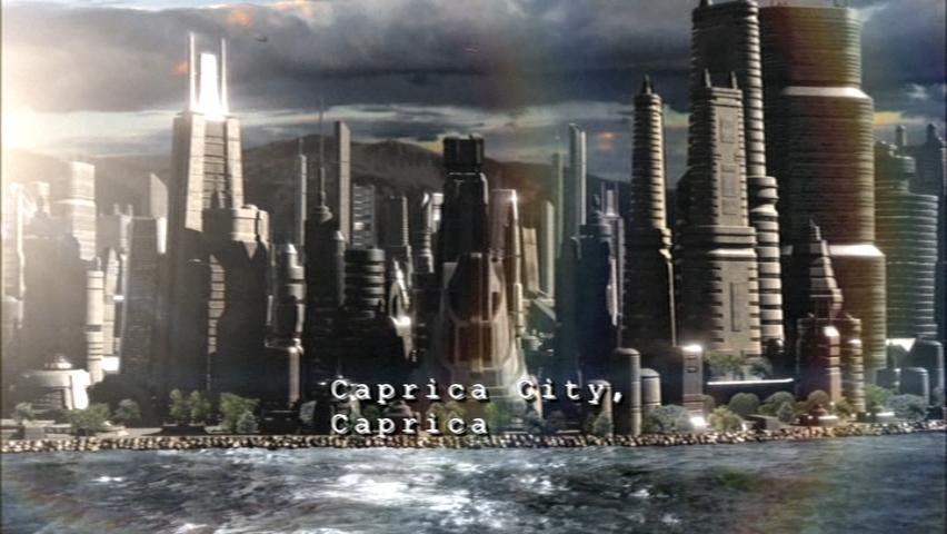 Caprica City, Caprica