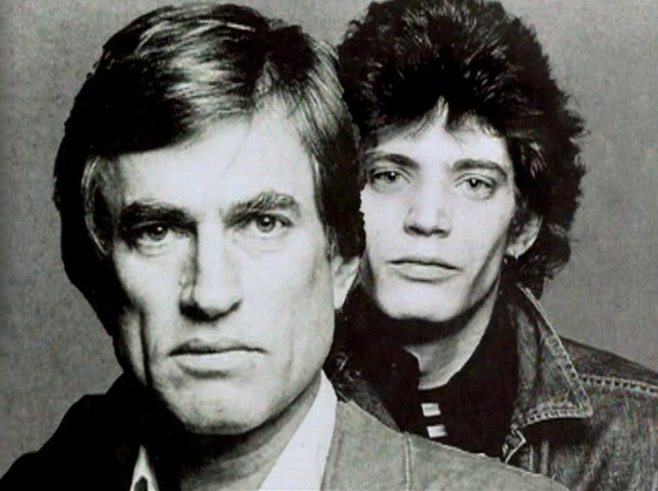 Sam Wagstaff and Robert Mapplethorpe