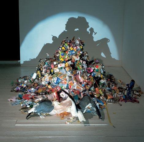 garbage silhouettes